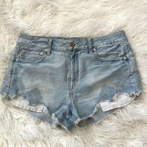 American Eagle High Rise Shorts Size 10
